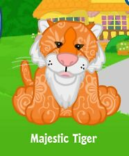 Webkinz Majestic Tiger (unused code only ) !CREDIBLE Proven Seller!