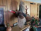 Large Turkey in Flight Wall Mount Taxidermy Bird