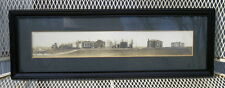 Rare Vintage Panographic Professional Image Woodsides Picture Frame Elmira NY