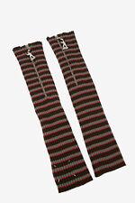 MAISON MARGIELA men Gloves and Long Fingerless Gloves MM10 Striped Muff  S (S...