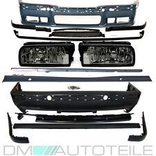 BMW E36 Stoßstange KOMPLETTPAKET Bodykit +Nebel Smoke + Zubehör für M M3 Umbau