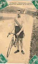 Carte postale Malcuit, Émile Demangel vitesse médaille d'argent 660y JO Londres