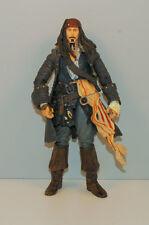 "6.75"" Captain Jack Sparrow Action Figure Toy Disney Pirates Of The Caribbean"