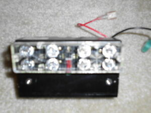 Code 3 AMBER LED Module lightbar led 8 LIGHT module LEDS Steady on New takeoffs