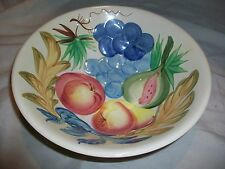 Vintage Fruit Bowl Raised Design Made in Japan Colorful Unknown China