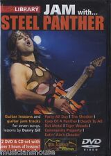 LICK LIBRARY Learn to Play JAM WITH STEEL PANTHER Party All Day Hits GUITAR DVD