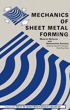 Mechanics of Sheet Metal Forming: Material Behavior and Deformation Analysis
