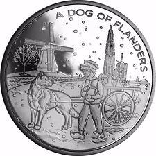 Belgien 20 Euro Münze Niklaas aus Flandern Silber 2010 PP A Dog of Flander