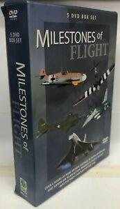 Milestones of Flight - 5 DVD Box Set - AusPost with Tracking