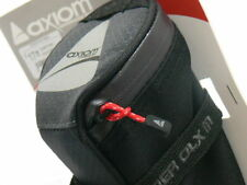 Axiom Rider Deluxe Bike Seat Bag Grey / Black Medium