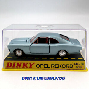 Dinky Toys 1:43 Atlas Opel Rekord 1900 N°1405 Maquettes Diorama Métal Neuf