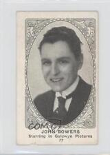 1921 American Caramel Movie Actors and Actresses #77 John Bowers Card 1x2