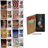 For Huawei Series - Music Note Theme Flip Case Wallet Mobile Phone Cover #2