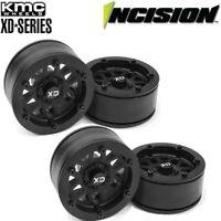 "Vanquish Incision IRC00250 KMC 1.9"" XD229 Beadlock Wheels (4) Rock Crawler"