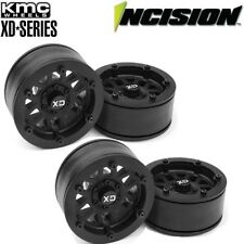 "Vanquish Incision IRC00250 KMC 1.9"" XD229 Beadlock Wheels (4) Rock Crawler"