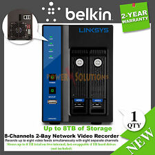 Linksys LNR0208C Network Video Recorder Remote live view and playback eSATA, USB
