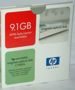 HP C7983A 9.1Gb Rewritable Magneto Optical MO Disk Cartridge New & Sealed