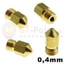 STAMPANTE 3d ugello per soffiaggio 0.4mm Nozzle 1.75mm filamento reprap makerbot cnc mk8