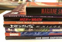 TPB LOT Boom! Irredeemable Deaths Whisper Blood & Shadows graphic novels books