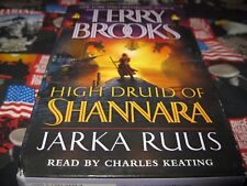 High druid of shannara  Jarka ruus Audiobook by terry brooks