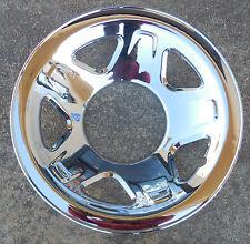 """One (1) Chrome Skin for a 1993 94 95 96 97 Ford Ranger 15"""" Steel Rim Wheel"""