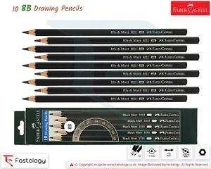 FABER CASTELL 2H H HB 2B 3B 4B 5B 6B 8B Graded Pencils Draw Sketch Tone Artist