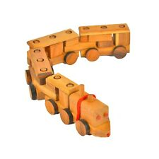 Wooden Block Pull Along Train (Small)