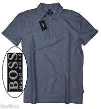 NWT Hugo Boss Black Label By Hugo Boss Slim Fit Tonal Stripe Polo Shirt Size M