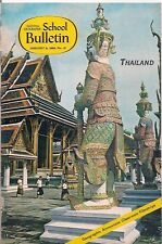 national geographic-SCHOOL BULLETIN-jan 8,1968-THAILAND.