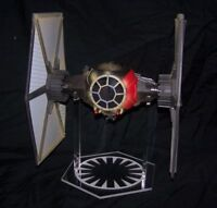 1 x Acrylic Display STAND - Star Wars Force Awakens First Order Tie Fighter