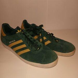 Adidas ~ Gazelle Green , ND NOTRE DAME , Men's Size 13 Shoes
