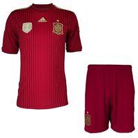 Adidas FEF Spanien Climacool Trikot oder Shorts rot/gold spain home Jersey NEU