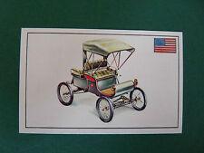 N°60 OLDSMOBILE ETATS-UNIS USA 1901 PANINI 1972 HISTOIRE DE L'AUTOMOBILE
