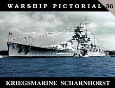 Kriegsmarine Scharnhorst, German Battleship (Warship Pictorial 36)