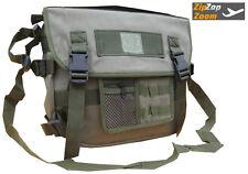 Army Combat Travel Military Shoulder Messenger Satchel Canvas Day Bag Pack Green