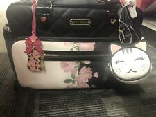*NWT* NEW BETSEY JOHNSON BLK MULTI WEEKENDER DIAPER BAG MRSP $158