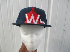 VINTAGE MLB AMERICAN NEEDLE WASHINGTON SENATORS FITTED 7 1/4 CAP HAT NATIONALS