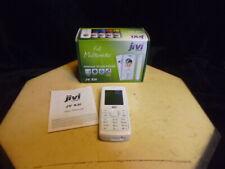 White JIVI JV X3i mobiles phone-w/original box-free ship