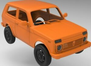 STL files quality for 3d print RC body Lada Niva 313mm Axial
