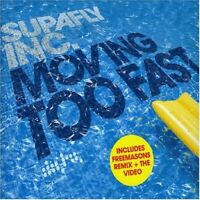 Moving Too Fast, Supafly, Audio CD, Good, FREE & FAST Delivery