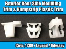 Clip 50x PER HONDA CRV CIVIC PORTA ESTERNA LATERALE stampaggio bumpstrip plastica Trim