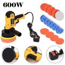 "5"" 600W Car Waxing Polishing Sponge Pads Kit Set For Car Polisher Drill"