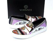 NEW Versace Men's Barocco Multicolor Slip-on Sneakers Size 6 /39 EU  $650.00