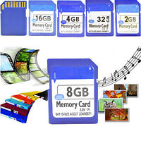 Flash Memory Card SD Card 2G 4G 8G 16G 32G For Tablet Laptop Cell Phones Camera