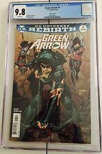 Green Arrow Rebirth #3 CGC 9.8 - Variant - Neal Adams Cover - First Print