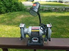"""Craftsman 6"""" inch Grinder - Model 351.211240 - 3450 RPM - 2.1 Amp - 1/6 HP CD"""