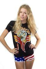 Vintage Van Halen Shirt 1984 RARE 80s Japan Boho Rock David Lee Roth 50/50 S