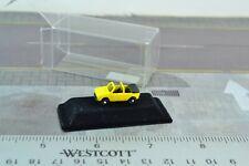 IMU Volkswagen Golf Convertible car Yellow Diecast Metal 1:160 N Scale (N4181)