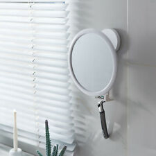 Anti Fog Wall Mount Shower Mirror For The Bathroom With Storage Hook Easy Using