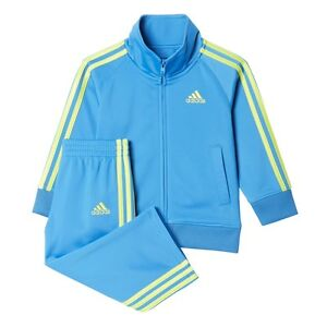Adidas Baby & Toddler Impact Tricot Track Suit set B77660 Sizes: 3~24 Month